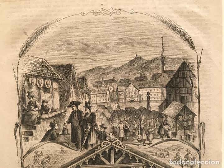 Arte: Escenas de pueblo y campo, 1864. Yellerte/E.H.X.A - Foto 6 - 260822630