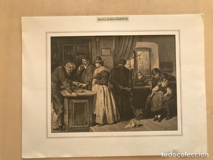 Arte: Los orfebres y sus clientes, 1879. F. Schelesinger - Foto 2 - 260845880