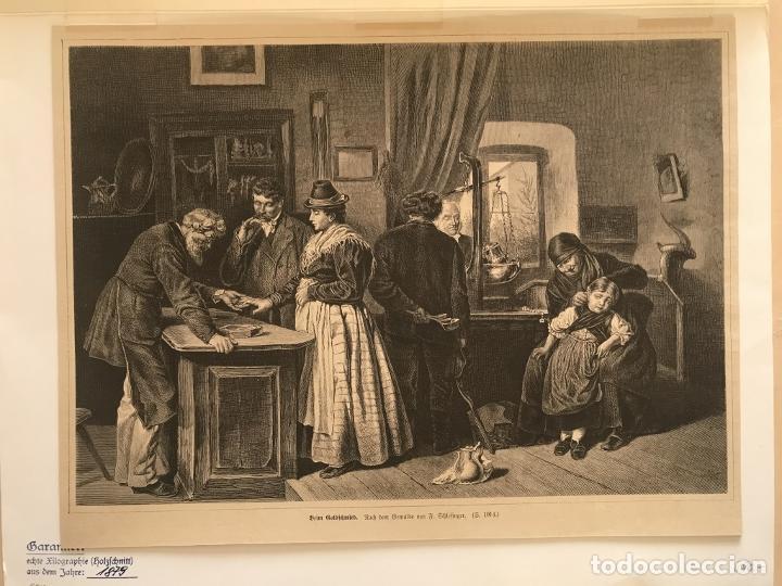 Arte: Los orfebres y sus clientes, 1879. F. Schelesinger - Foto 3 - 260845880