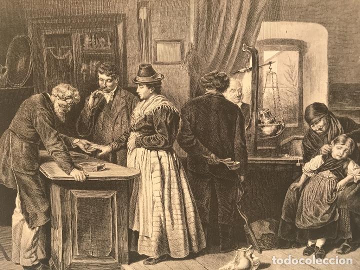 Arte: Los orfebres y sus clientes, 1879. F. Schelesinger - Foto 4 - 260845880