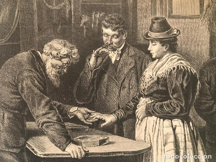 Arte: Los orfebres y sus clientes, 1879. F. Schelesinger - Foto 5 - 260845880