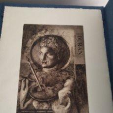Arte: GRABADO EXPOSICIONES DE ARTE DURAN. Lote 260976000
