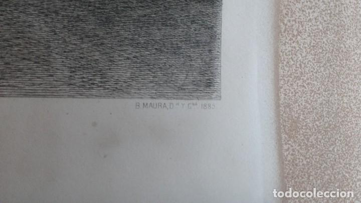 Arte: Familia de Carlos IV grabado de Bartolomé Maura y Montaner - Foto 2 - 261136785