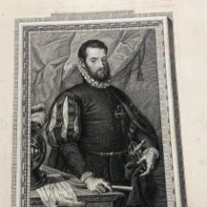 Arte: GRABADO D. PEDRO MENENDEZ DE AVILES. COMENDADOR DE LA ORDEN DE SANTIAGO. AÑO 1791. Lote 261224730