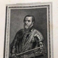 Arte: GRABADO DUQUE DE ALBA. AÑO 1791. Lote 261226820