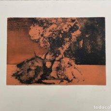 Arte: MURADO, ANTONIO (LUGO, 1964). COMPOSICIÓN. AGUAFUERTE.. Lote 261232525