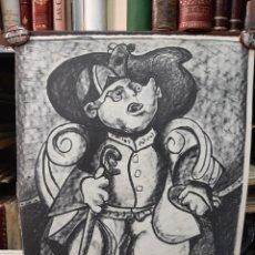 Arte: LITOGRAFIA ORIGINAL DE LAXEIRO FIRMADA - JOSÉ OTERO ABELEDO (LALÍN, PONTEVEDRA 1908-1996). Lote 261520405