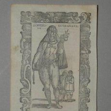 Arte: DONCELLA DE GRANADA (ANDALUCÍA, ESPAÑA), 1590. VECELLIO/KRIEGER/ZENARO. Lote 261537835