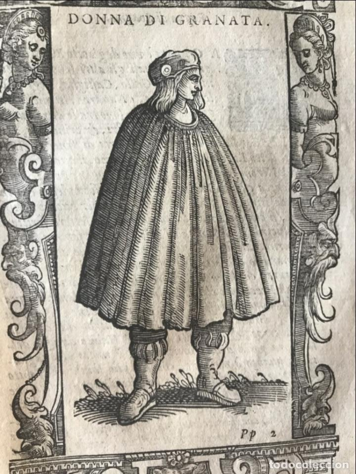 Arte: Mujer de Granada (Andalucía, España), 1590. Vecellio/Krieger/Zenaro - Foto 5 - 261544500