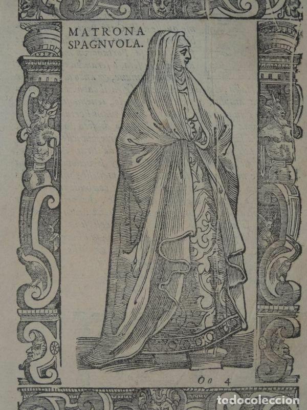 Arte: Xilografía matrona de España, 1590. Vecellio/Krieger/Zenaro - Foto 3 - 261611460