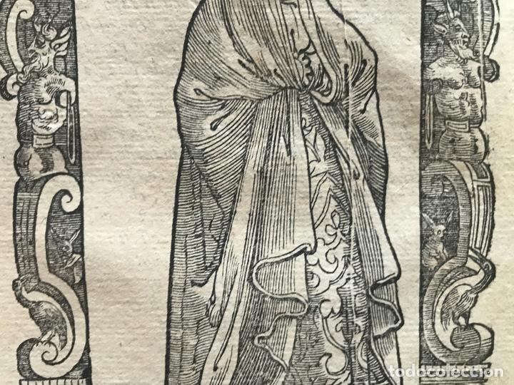 Arte: Xilografía matrona de España, 1590. Vecellio/Krieger/Zenaro - Foto 7 - 261611460