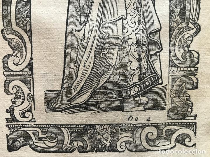 Arte: Xilografía matrona de España, 1590. Vecellio/Krieger/Zenaro - Foto 8 - 261611460