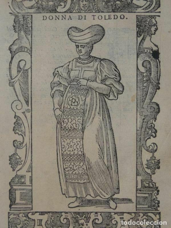 Arte: Xilografía de mujer Toledo (España), 1590. Vecellio/Krieger/Zenaro - Foto 3 - 261613945