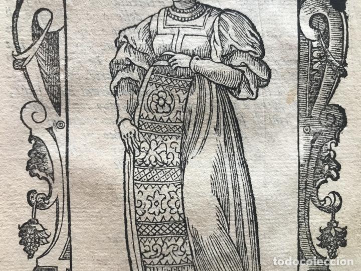 Arte: Xilografía de mujer Toledo (España), 1590. Vecellio/Krieger/Zenaro - Foto 7 - 261613945