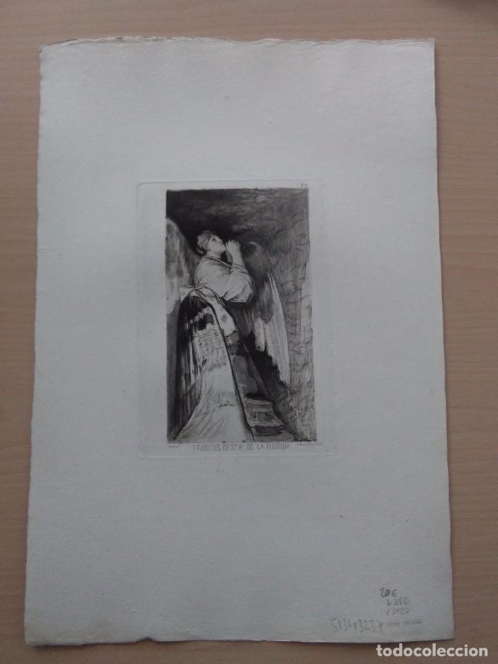 Arte: Goya / San Antonio de la Florida / Grabado de Galván - Foto 2 - 261671425