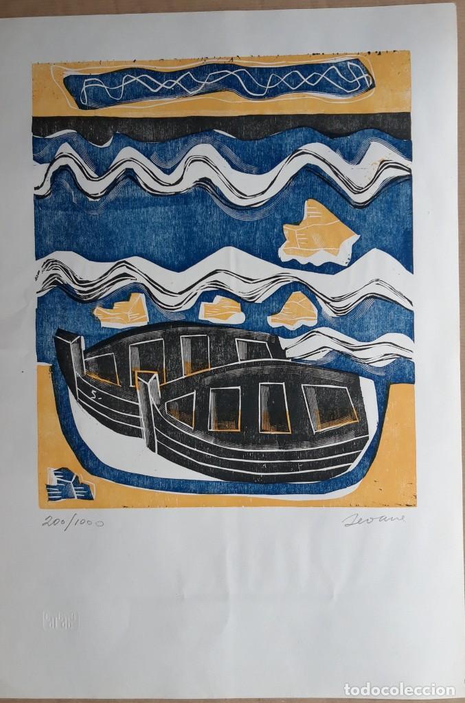 GRABADO LUIS SEOANE (Arte - Grabados - Contemporáneos siglo XX)