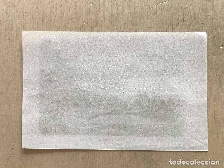 Arte: Desfiladero de Salinas en Pamplona (Navarra, España), hacia 1850. Bulluca/Couche - Foto 3 - 261699795
