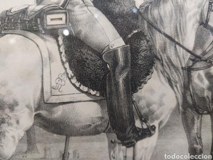 Arte: Grabado GRANADEROS DE LA GUARDIA REAL - Foto 6 - 262131630