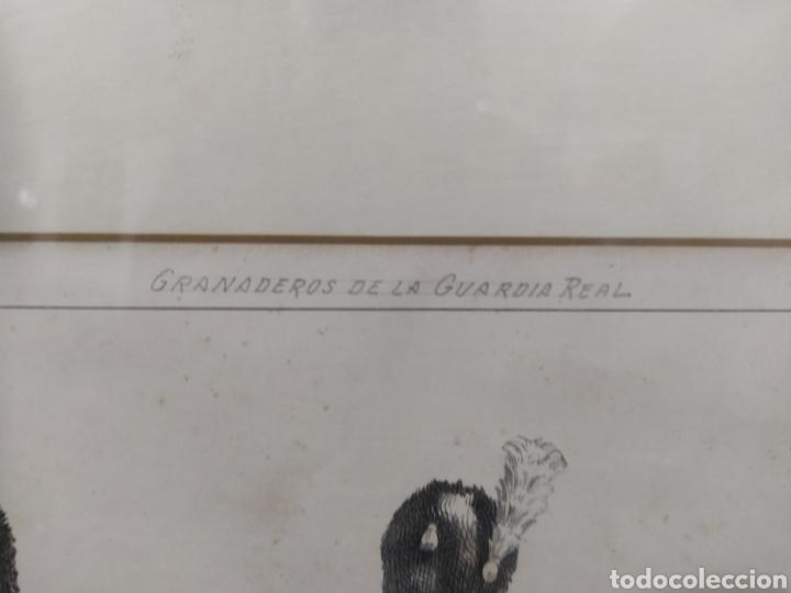 Arte: Grabado GRANADEROS DE LA GUARDIA REAL - Foto 10 - 262131630