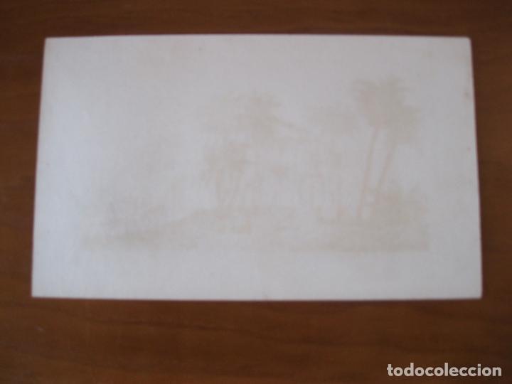 Arte: Vista del Arco del Triunfo en Antinoe (Egipto), circa.1850. Lemaitre - Foto 3 - 262138305