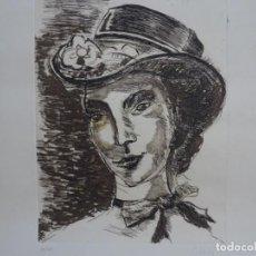 Arte: GRABADO AGUAFUERTE DE JOAN ABELLO. 88/100. RETRATO.. Lote 262326740