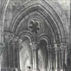 Arte: VISTA INTERIOR DEL MONASTERIO DE PIEDRA (ARAGÓN, ESPAÑA), 1844. PARCERISA Y BOADA. Lote 262359440