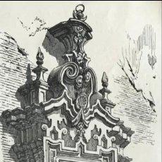 Arte: PUERTA LATERAL DE ENTRADA A UNA IGLESIA DE CÓRDOBA ( ESPAÑA), HACIA 1850. ANÓNIMO. Lote 262374775