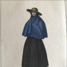 Arte: JOVEN NATIVA DE CONTUMAZÁ (PERÚ, AMÉRICA DEL SUR), 1844. MASSARD/CHOBARD. Lote 262445335