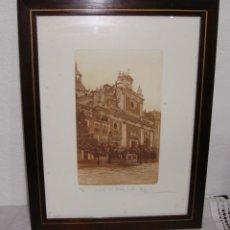 Arte: GRABADO. IGLESIA DEL SALVADOR DE SEVILLA. NUMERADO 112/300. FIRMADO.. Lote 262606495