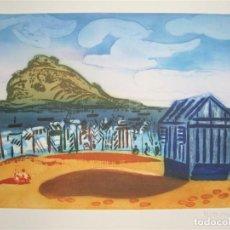 Arte: GRABADO AL AGUAFUERTE DE MENCHU GAL, 2/ 150 MEDIDAS: 56 X 46 CM PERFECTO ESTADO, NUNCA ENMARCADO. Lote 262860465