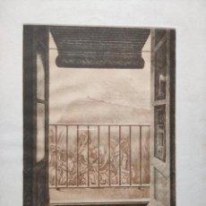 Arte: MIQUEL VILÁ (BARCELONA, 1940) GRABADO 32X25 PAPEL 50X39, FIRMADO VENTANA. Lote 262879735