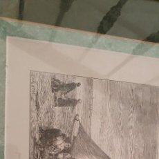 Arte: GRABADO DEL SIGLO XIX AL AGUA FUERTE, KARL DAUBIGNY (1869). Lote 263037555