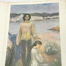 Arte: GRABADO DE RAMON PICHOT, SANT JORDI . CADAQUES . GENERALITAT DE CATALUNYA. Lote 263546965