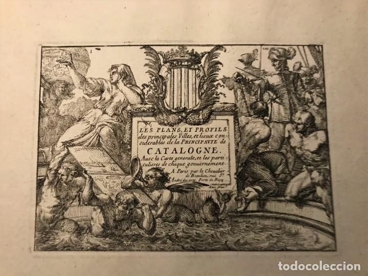 Arte: INTERESANTE LOTE DE 5 GRABADOS , TITULO PLANS ET PRO.. CATALOGNE , PERPIGNAN, ROSAS DE ROUX... - Foto 2 - 263550305