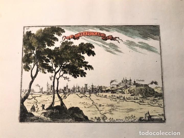 Arte: INTERESANTE LOTE DE 5 GRABADOS , TITULO PLANS ET PRO.. CATALOGNE , PERPIGNAN, ROSAS DE ROUX... - Foto 7 - 263550305