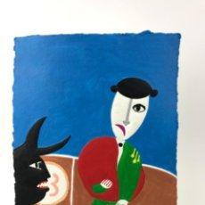 Arte: GRABADO DE ~RIPOLLES~ FIRMADO Y NUMERADO 3/50 A.. Lote 263594585