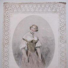 Arte: PAUL GAVARNI / CHARLES-MICHEL GEOFFROY. LA CROIX D'OR. LA CRUZ DE ORO. ED.GONET. PARIS, 1850. Lote 264053120
