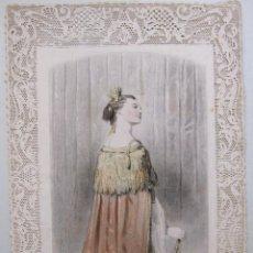 Arte: PAUL GAVARNI / CHARLES-MICHEL GEOFFROY. LE MANTEAU ROYAL. EL MANTO REAL. ED.GONET. PARIS, 1850. Lote 264054115