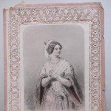 Arte: PAUL GAVARNI / CHARLES-MICHEL GEOFFROY. LE COLLIER. EL COLLAR. ED.GONET. PARIS, 1850. Lote 264054960
