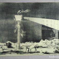 Arte: GASTÓN ORELLANA (VALPARAÍSO, 1933). PRUEBA DE ARTISTA, 1969. FIRMADO A LÁPIZ.. Lote 264087290