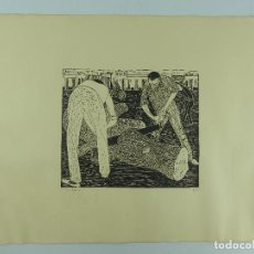Arte: BONITO GRABADO FIRMADO Y NUMERADO NUMERO 1 DE 20. Lote 264158864