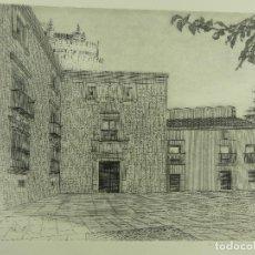 Arte: BONITO GRABADO FIRMADO Y NUMERADO NUMERO 228 DE 300. Lote 264159064