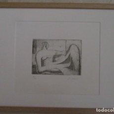 Arte: H.MOORE.GRABADO FIRMADO A LAPIZ.. Lote 264174096