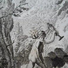 Arte: GRABADO EL ESPEJO DE LA VIDA. S XVIII. ROGAMOS LEER BIEN LAS CONDICIONES ANTES DE PUJAR.. Lote 264328680