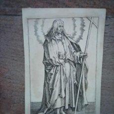 Arte: MARAVILLOSO Y RARÍSIMO GRABADO APÓSTOL FELIPE, ORIGINAL 1610.JAN MULLER. SEGUIDOR VAN LEYDEN. Lote 264492849