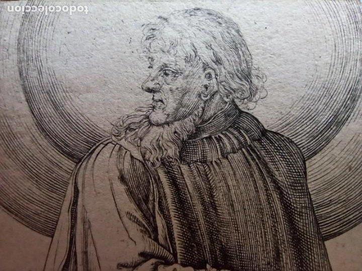 Arte: MARAVILLOSO Y RARÍSIMO GRABADO APÓSTOL BARTOLOMÉ, ORIGINAL 1610.JAN MULLER. SEGUIDOR VAN LEYDEN - Foto 6 - 264493089