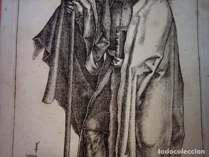 Arte: MARAVILLOSO Y RARÍSIMO GRABADO APÓSTOL TOMÁS, ORIGINAL 1610.JAN MULLER. SEGUIDOR VAN LEYDEN - Foto 5 - 264493714