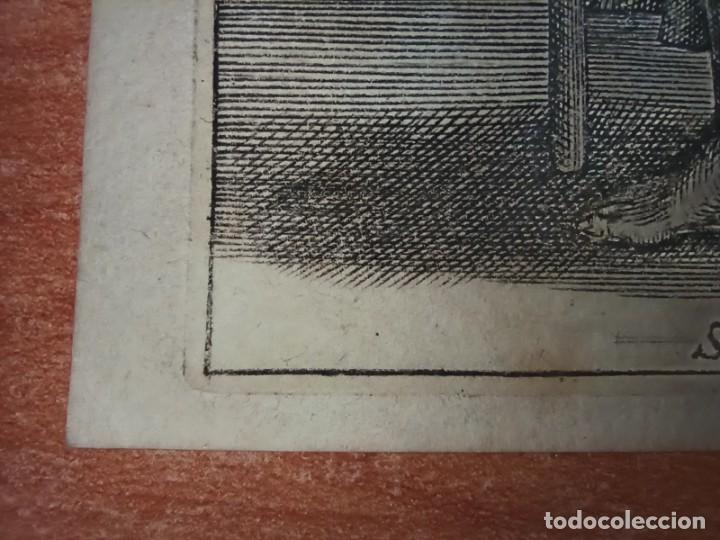 Arte: MARAVILLOSO Y RARÍSIMO GRABADO APÓSTOL TOMÁS, ORIGINAL 1610.JAN MULLER. SEGUIDOR VAN LEYDEN - Foto 7 - 264493714