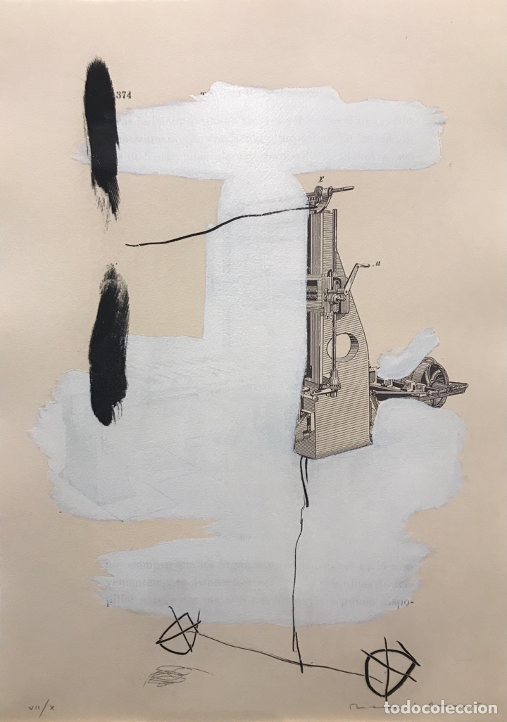 GRABADO JOSEP MARIA RIERA I ARAGO (Arte - Grabados - Contemporáneos siglo XX)