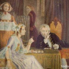Arte: D. MALLISE - RICHARD HATFIELD - THE REDUCED GENTLEMAN´S DAUGTHER -LONDON 1842. Lote 264785949